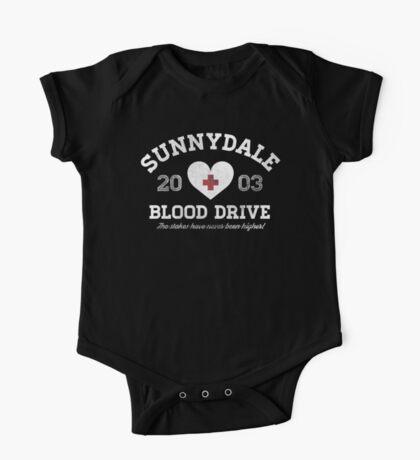 Sunnydale Blood Drive One Piece - Short Sleeve