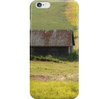 Grassy farmland iPhone Case/Skin