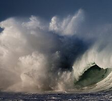 Winter Waves At Waimea Bay 4 by Alex Preiss