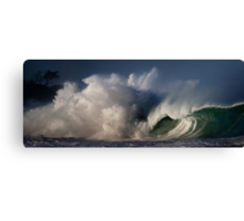 Winter Waves At Waimea Bay 4 Canvas Print
