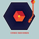 Cubic Records by modernistdesign