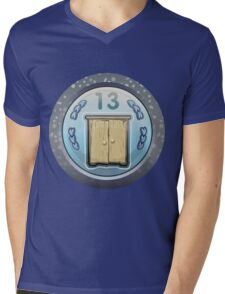 Glitch Achievement corporate cabinetmaker Mens V-Neck T-Shirt