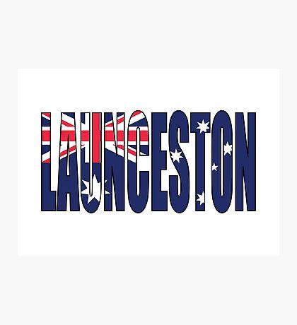 Launceston Photographic Print