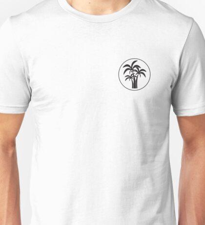 Circled Palm Trees Unisex T-Shirt