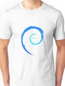 Debian Logo Blue Unisex T-Shirt