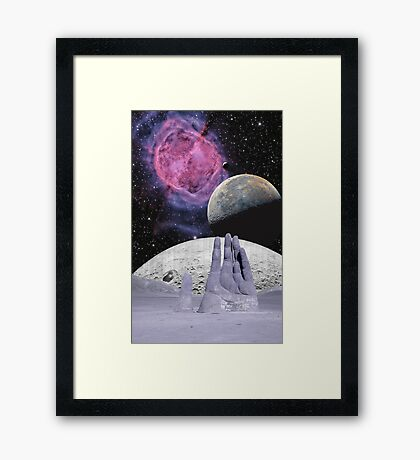 Dune Hand of the Moons Framed Print