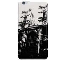 Westminster Abbey Pen and Ink,  London, England, UK iPhone Case/Skin