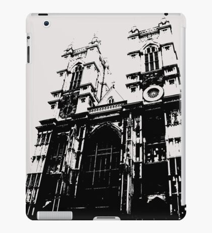 Westminster Abbey Pen and Ink,  London, England, UK iPad Case/Skin
