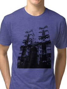 Westminster Abbey Pen and Ink,  London, England, UK Tri-blend T-Shirt