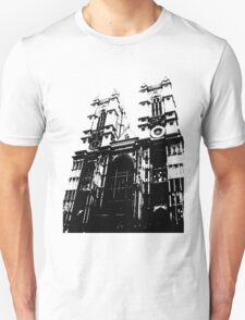 Westminster Abbey Pen and Ink,  London, England, UK Unisex T-Shirt