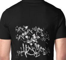 Tags (white/bleach) Unisex T-Shirt