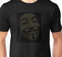 V For Vendetta You May Call Me V Unisex T-Shirt