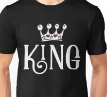 King With Crown Unisex T-Shirt