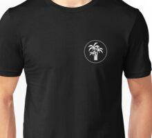 Inverted Palm Tree Logo Unisex T-Shirt