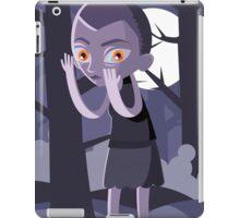 stranger alien girl in the woods iPad Case/Skin