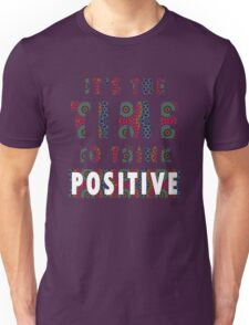 Time To Think Positive Mandala Unisex T-Shirt