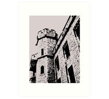 Tower of London Pen and Ink Art Print