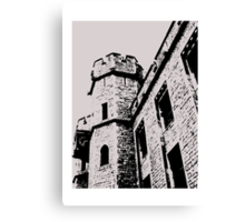 Tower of London Pen and Ink Canvas Print