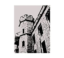Tower of London Pen and Ink Photographic Print