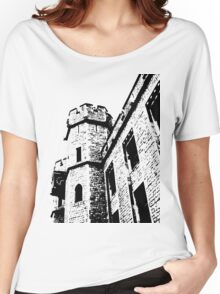 Tower of London Pen and Ink Women's Relaxed Fit T-Shirt