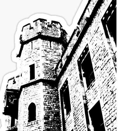 Tower of London Pen and Ink Sticker