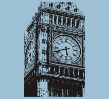 Big Ben Face - Palace of Westminster, London  Baby Tee