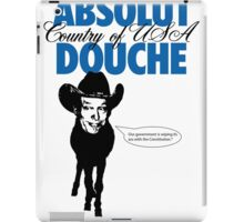 Absolute Douche 1 iPad Case/Skin