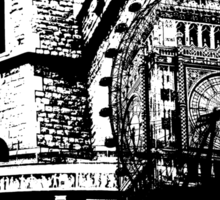 London Composite Pen and Ink Sticker