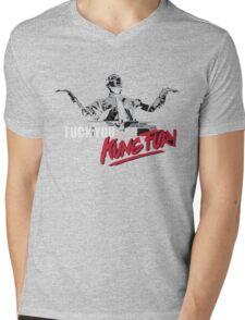 Fuck You Kung Fury Mens V-Neck T-Shirt