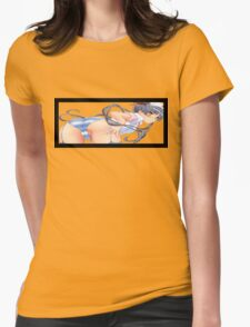T-Screen: Bent Over Nurse Womens Fitted T-Shirt