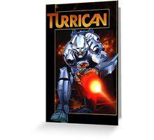 Turrican Greeting Card