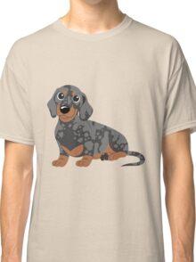 Miniature Dachshund - Black Dapple Classic T-Shirt