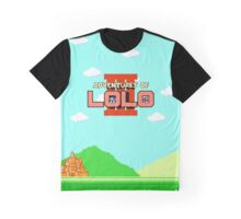 Adventures of Lolo III (NES Title Screen) Graphic T-Shirt