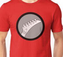 Hockey Neck Guitar Unisex T-Shirt