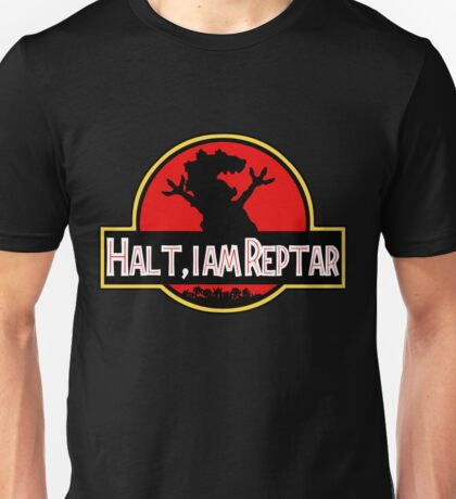 Halt I am Reptar - Jurassic Park Unisex T-Shirt