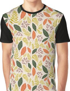 Autumnal Flowers Graphic T-Shirt