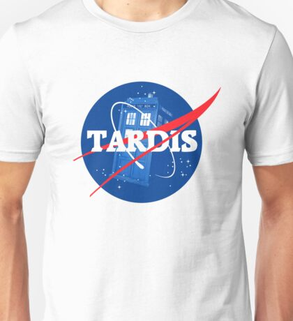 TARDIS - Doctor Who Unisex T-Shirt