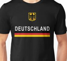 Deutschland Football Jersey German Eagle Unisex T-Shirt