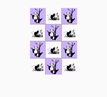 Pandas Checker - Purple T-Shirt