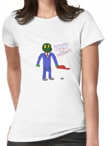 Reptoid Womens Fitted T-Shirt