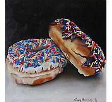 Donuts with Sprinkles Photographic Print