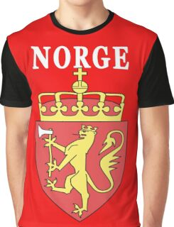 Norge Norway National Game Design Graphic T-Shirt