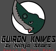 Guiron Knives & Ninja Stars by scribbledeath