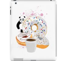 Panda & White Donuts iPad Case/Skin