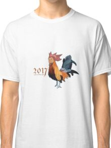 2017 - Year of the cock featuring president Trump Classic T-Shirt