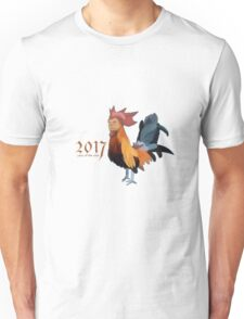 2017 - Year of the cock featuring president Trump Unisex T-Shirt