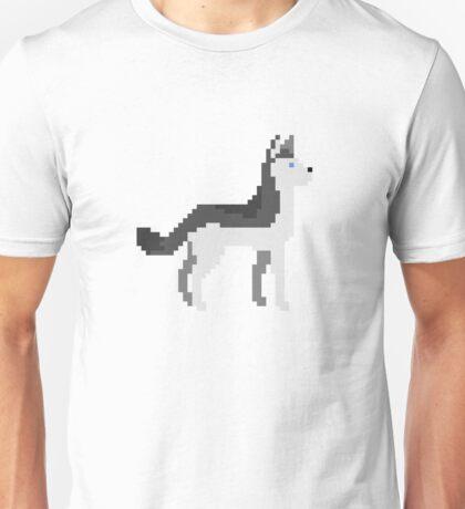 Husky Pixel Unisex T-Shirt