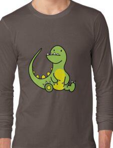 The Little Fat Dino Long Sleeve T-Shirt