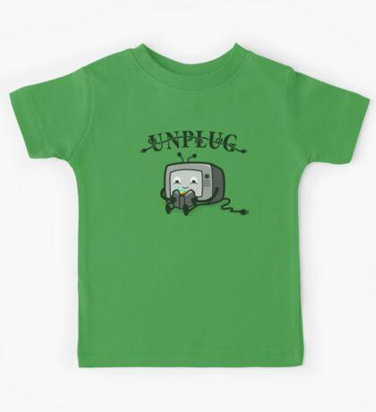 Unplug Kids Tee