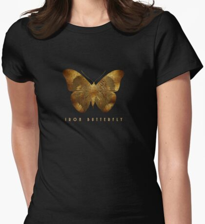 Iron Butterfly Womens Fitted T-Shirt